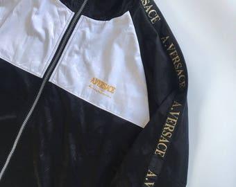 Vintage A. Versace Medusa Embroidery Jacket