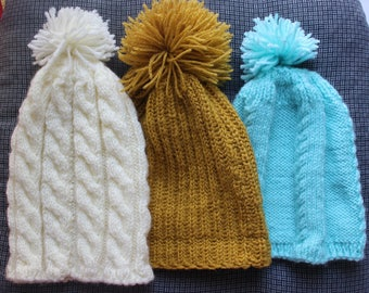 Granny's knitted hats