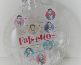 Playbill Christmas ornaments, Broadway musical inspired Christmas Ornament, Playbill , Broadway musical ,Custom  Christmas ornaments