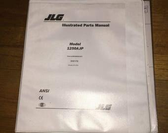 JLG Manuals Boom Aerial Equipment Model 1250AJP Illustrated Parts Manual