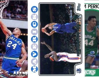 DALLAS MAVERICKS Basketball Team Lot - 150 Assorted Cards