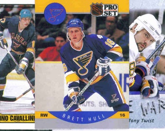 ST. LOUIS BLUES Hockey Team Lot - 150 Assorted Cards