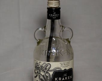 Kraken bottle table lamp