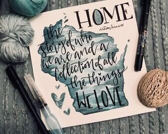 Watercolor Home Decor