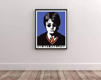Harry Potter Poster, The Boy Who Lived