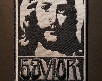 Jesus Christ Savior Iron On Patch