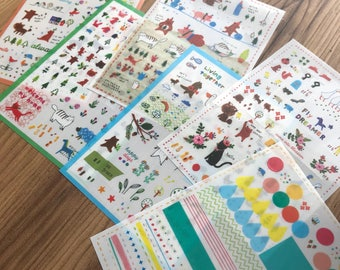 Happy Times planner stickers