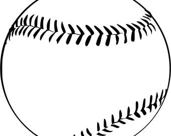 Baseball SVG Cutting File