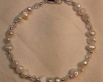 B17011 Freshwater Pearl Bracelet