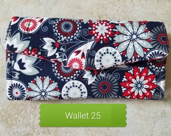 Red, White and Blue Wallet