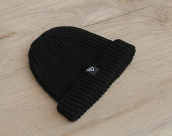 PART TIME, beanie, fisherman style, roll up, winter hat, ski, snowboard