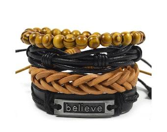 The Believer Bracelet Set