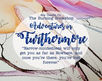 Adventures in Furthermore | Furthermore Inspired Bookish Soy Candle
