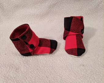 Stay on baby booties - 12-18 month - non-slip baby shoes