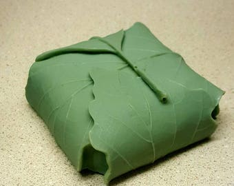 Handmade Leaf Wrap Soap
