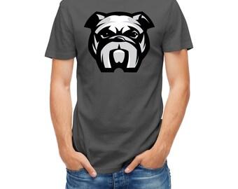 T-shirt Dog Bulldog Head Aggressive 24292