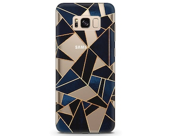 geometric phone case Samsung s8 case geometric pattern Gold phone case pixel xl phone case pixel case clear Mosaic art Galaxy s8 plus case