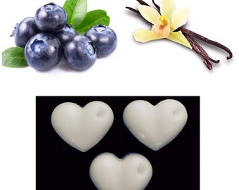5 Blueberry and Vanilla Soy Wax Melts