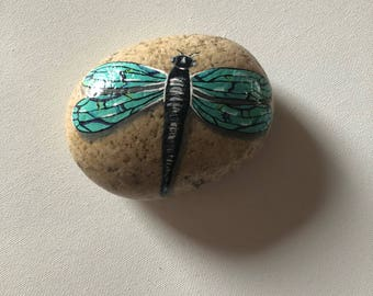 Dragonfly Rock, Painted Dragonfly, Dragonfly Lovers