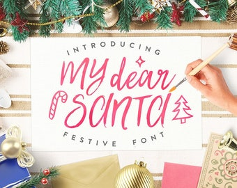 Calligraphy Font,  Swirly Font, Wedding Watercolor, Christmas font, Handwritten Script  Instant Download - Briston Font