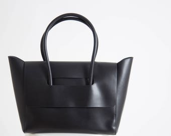 Tote bag Black Leather bag