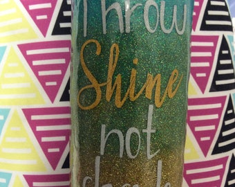 Glitter cup