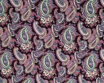 Liberty vintage Jubilee fabric in a purple paisley print