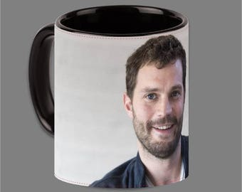 Dakota Johnson Jamie Dornan Coffee Cup Fifty Shades #0011