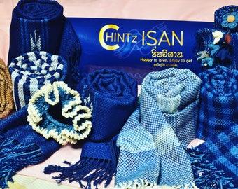 Scarf Indigo dyed cotton by CHINTzISAN