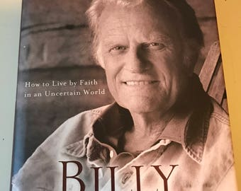 The Journey By Billy Graham Hard Cover Book