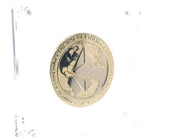 Limited Edition Gold Ethereum Coin