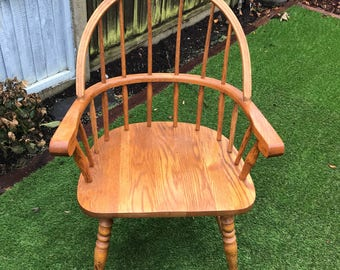 Canadian Vintage Wooden Chair