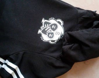 Inkie Joo short sleeve hoodie