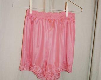 Vintage Vassarette Rose Color Tap Pant