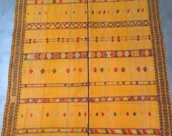 """Handmade kilim rug,244x144cm 96""""x57"""",Turkish kilim rug,Anatolian kilim rug,vintage kilim rug,tribal kilim rug, Handmade kilim rug"""