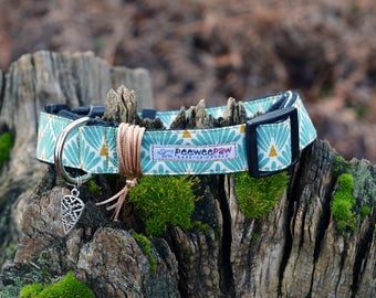 Collier pour chien réglable ※ GREENY DAY / Dog collar / Cadeau pour chien / Collier petit chien / Collier grand chien