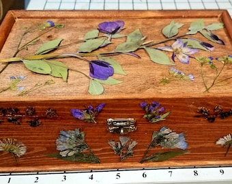 Wildflower Wooden Boxes