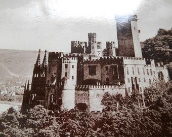 Germany, Rhine Koblenz  ~  Vintage Postcard ~ Real Photograph ~ Unused