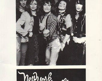 MORRISSEY, Stephen. New York Dolls.