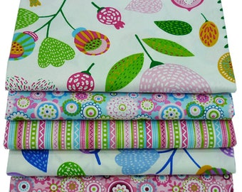 """New 15.7""""x19.7"""" Colorful Summer Style Cotton Fabric For Sewing,Patchwork,Home decoration,Cushions,Pillows And Quilting Crafts"""