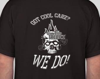 Car T-Shirt - Gear Head Freakz Apparel