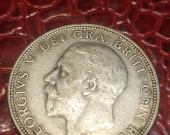 1931  Great Britain Uncertified Silver George V Florin