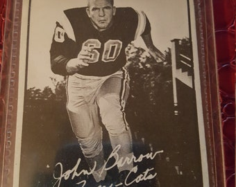 1961 Topps CFL Football #44 John Barrow.COMBIN.SHIPPING
