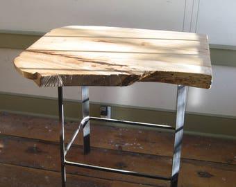 Live Edge Hickory Slab Table /Bar