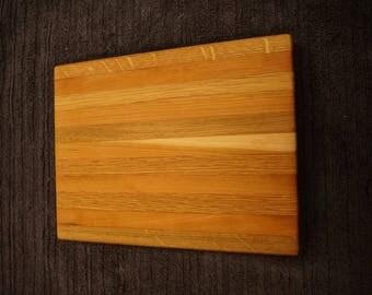 Red & White Oak Cheese Board 11in. by 8in.