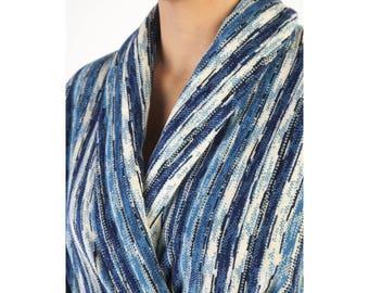 Blue Perth Bath Robe