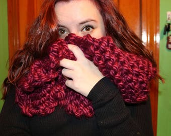 Baby It's Cold Outside Infinity Scarf