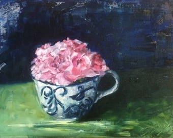Summer's End - still life oil painting
