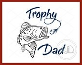 Father's Day, SVG, Dad, Fish, Fishing, Papa, Holiday SVG, Father, Cut file, Father's Day SVG, Fishhook, Bass, Father's Day Gift, Dad Gift