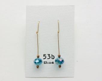 Czech crystal earring #284